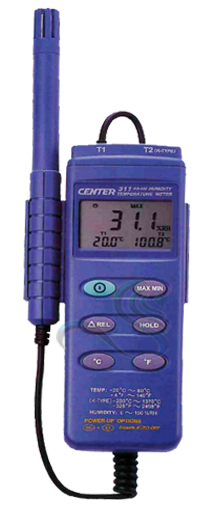 CENTER 311 Humidty Temperature Meter